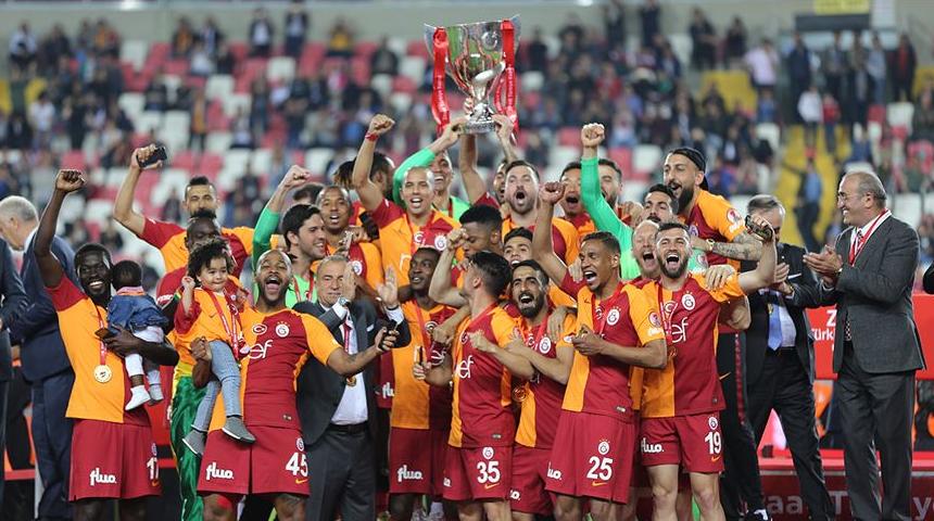 Galatasaray Türkiye Kupasını Kazandı